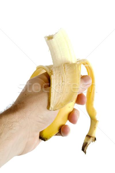 Half Eaten Banana Stock photo © SimpleFoto