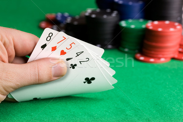 Poker Bluff Stock photo © SimpleFoto