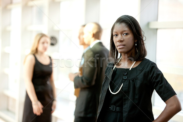 Stock photo: African American Business Woman