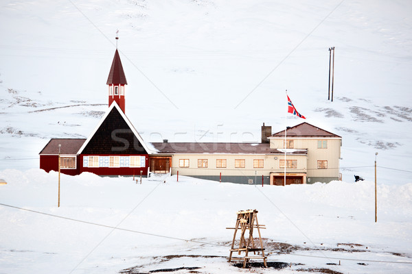 Svalbard Church Stock photo © SimpleFoto