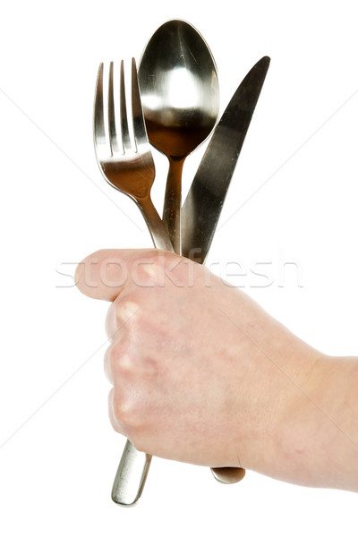 Knife, Fork and Spoon Stock photo © SimpleFoto