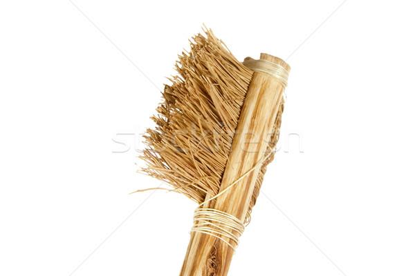 Grezzo spazzolino setola dente pennello Foto d'archivio © SimpleFoto