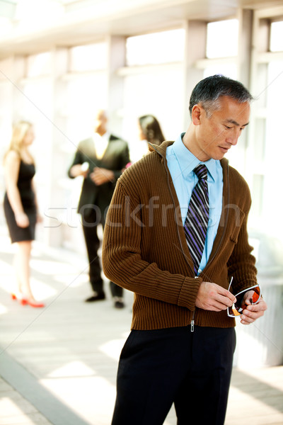 Candid Business man Stock photo © SimpleFoto