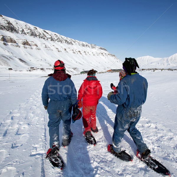 Svalbard Tourism Stock photo © SimpleFoto