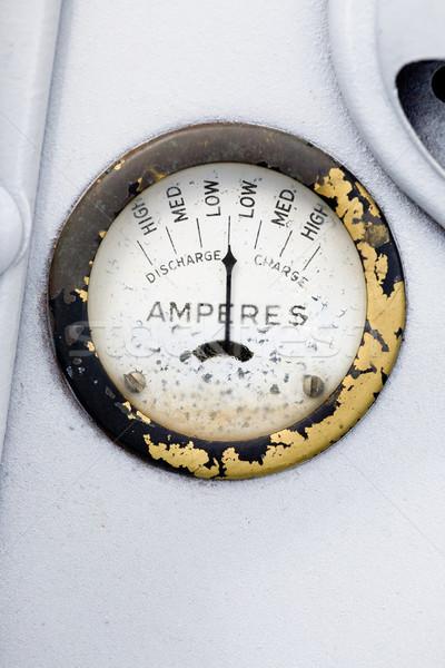 Retro Amp Gauge Stock photo © SimpleFoto