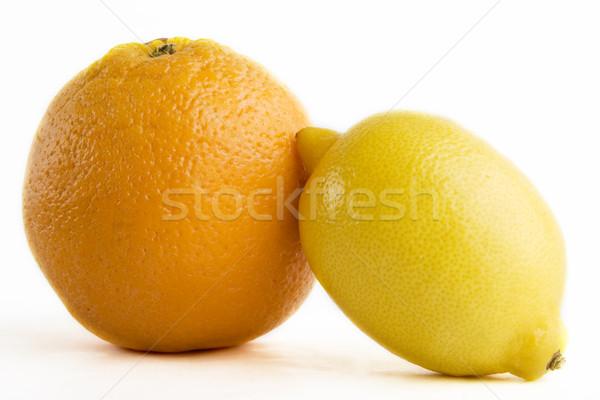 Lemon and Orange Stock photo © SimpleFoto