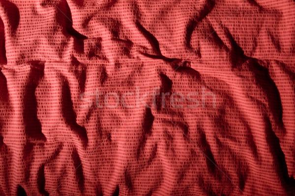Buruşuk bez yüzey doku arka plan kumaş Stok fotoğraf © SimpleFoto