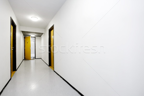 Stock photo: Hallway