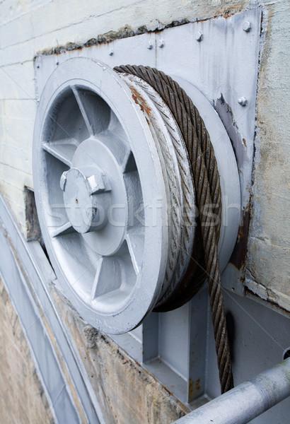 産業 金属 ホイール 線 ビッグ ストックフォト © SimpleFoto