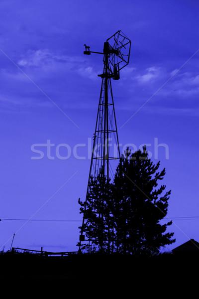 Old Windmill Stock photo © SimpleFoto