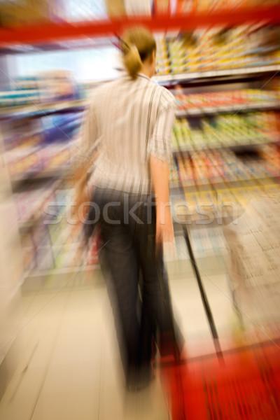 Shopping Craze Stock photo © SimpleFoto