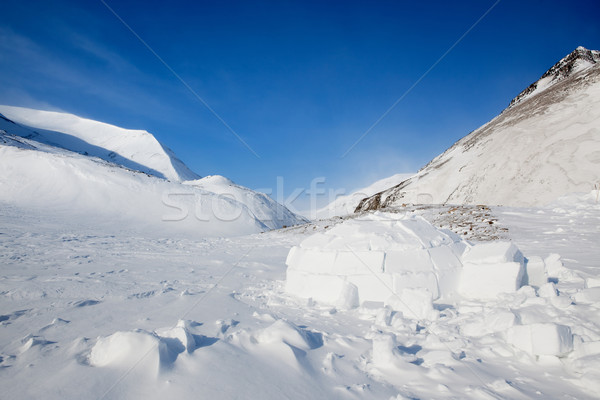 Igloo Stock photo © SimpleFoto