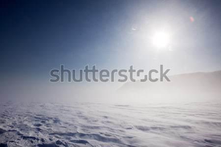 Winter Storm Stock photo © SimpleFoto