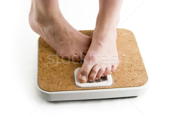 Stock photo: Weighing In