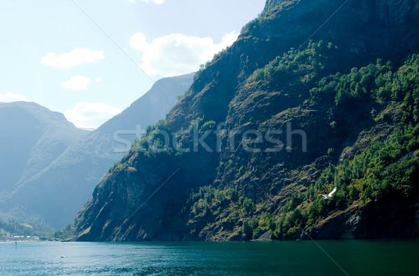 Aurlandsfjord Stock photo © SimpleFoto