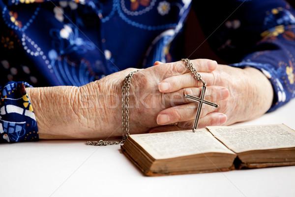 Prayer Stock photo © SimpleFoto