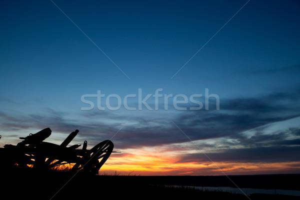 Prairie Landscape Stock photo © SimpleFoto