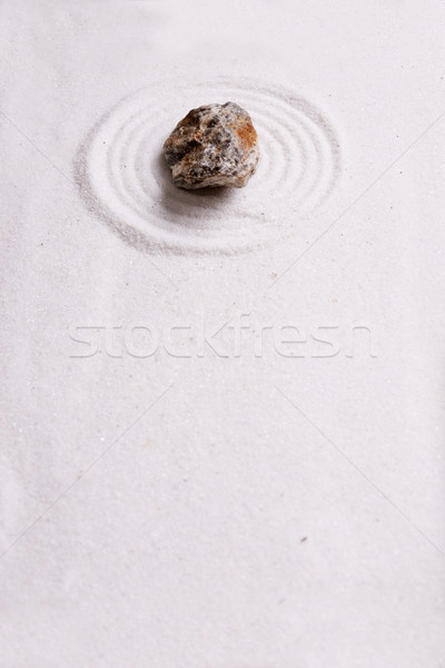 Zen Rock Garden Background Stock photo © SimpleFoto