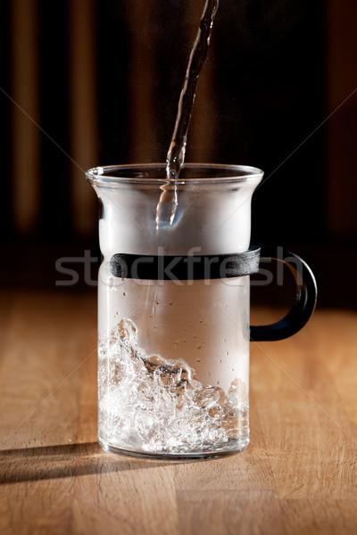 Morning Tea Stock photo © SimpleFoto