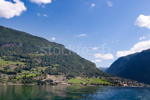 Norway Fjord Scenic Stock photo © SimpleFoto