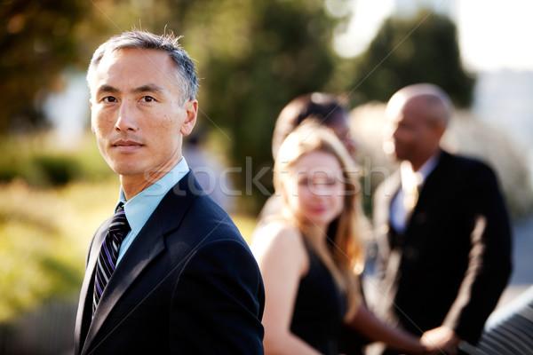 Serious Business Man Stock photo © SimpleFoto