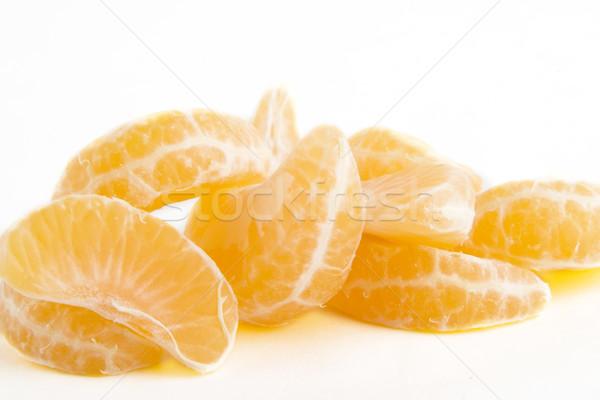 Narancsszelet köteg narancs szeletek gyümölcs energia Stock fotó © SimpleFoto
