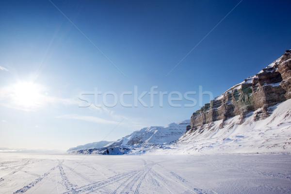 Winter Landscape Stock photo © SimpleFoto