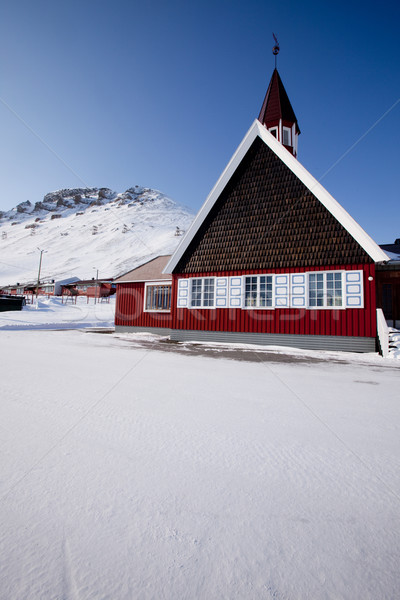 Longyearbyen Church Stock photo © SimpleFoto