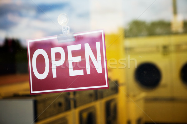 Stock photo: Open Sign