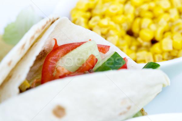 Pormenor macro preparado ingredientes comida Foto stock © SimpleFoto