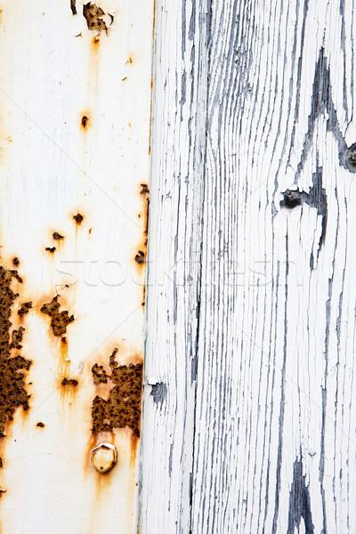 Rust and Wood Stock photo © SimpleFoto