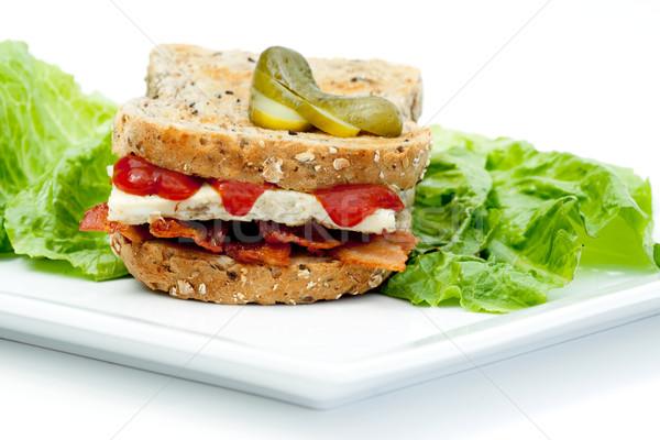 Denver Sandwich Stock photo © SimpleFoto