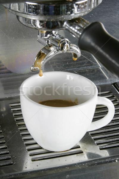 Doble café expreso dibujo taza café Foto stock © SimpleFoto