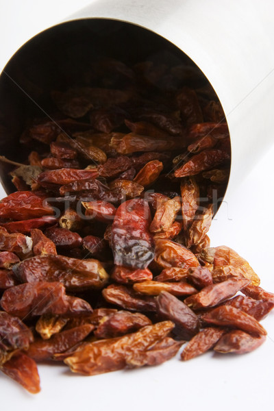 Bulk Hot Chillies Stock photo © SimpleFoto