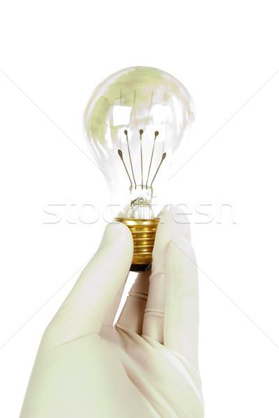 アイデア 保護 手 着用 ラテックス 手袋 ストックフォト © SimpleFoto