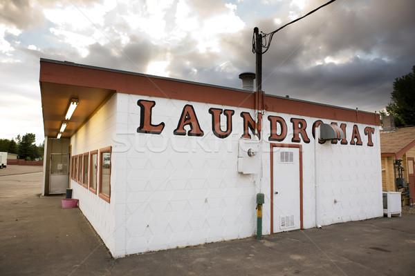 Vintage Laundromat Stock photo © SimpleFoto