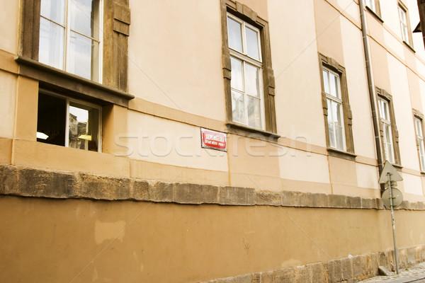 Quaint Street Prague Stock photo © SimpleFoto