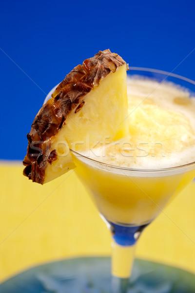 Pineapple Smoothie Stock photo © SimpleFoto