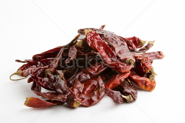 Dried Chillies Stock photo © SimpleFoto