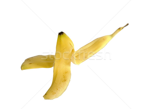 Cliche Banana Peel Stock photo © SimpleFoto