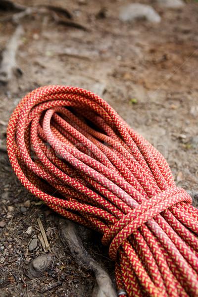 Climbing Rope Stock photo © SimpleFoto