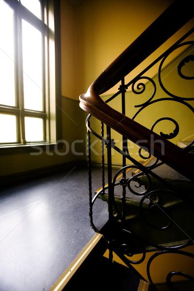 Art Nouveaux Staircase Stock photo © SimpleFoto