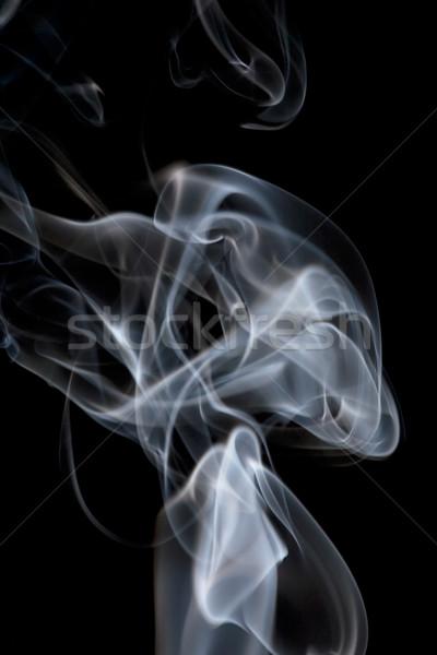 Smoke Background Stock photo © SimpleFoto