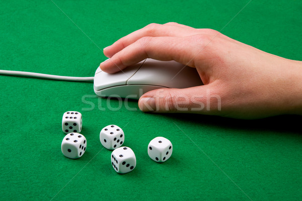 Online Game Concept Stock photo © SimpleFoto