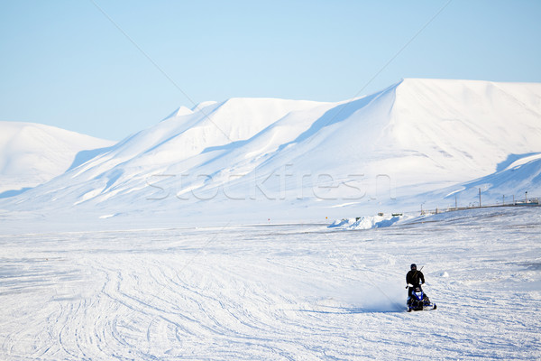 Arctic Landscape Stock photo © SimpleFoto
