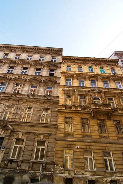 Prag Gebäude Detail alten Stadt Tschechische Republik Stock foto © SimpleFoto