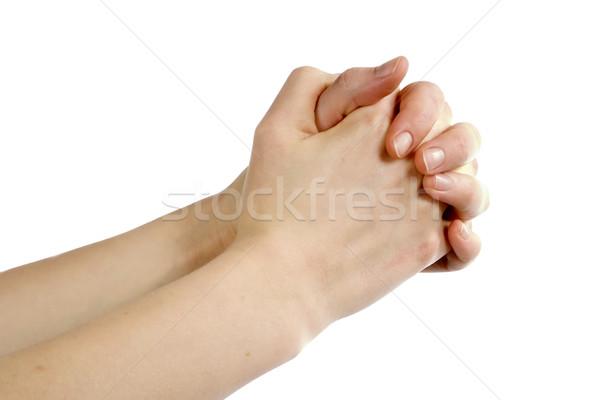 Praying Hands Stock photo © SimpleFoto