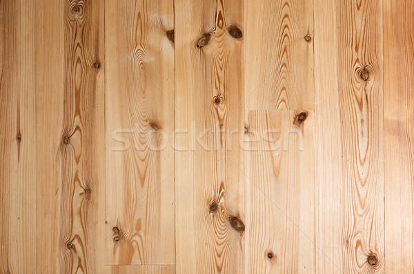 Piso de madeira pormenor textura imagem madeira luz Foto stock © SimpleFoto