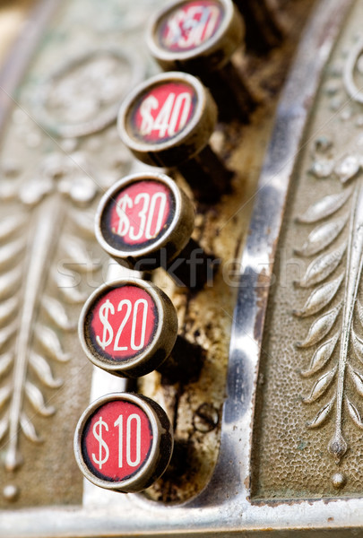 Old Cash Register Stock photo © SimpleFoto