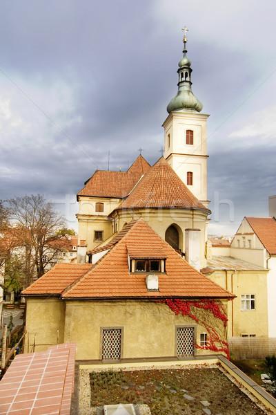 St. Nicolaus Church - Prague Stock photo © SimpleFoto